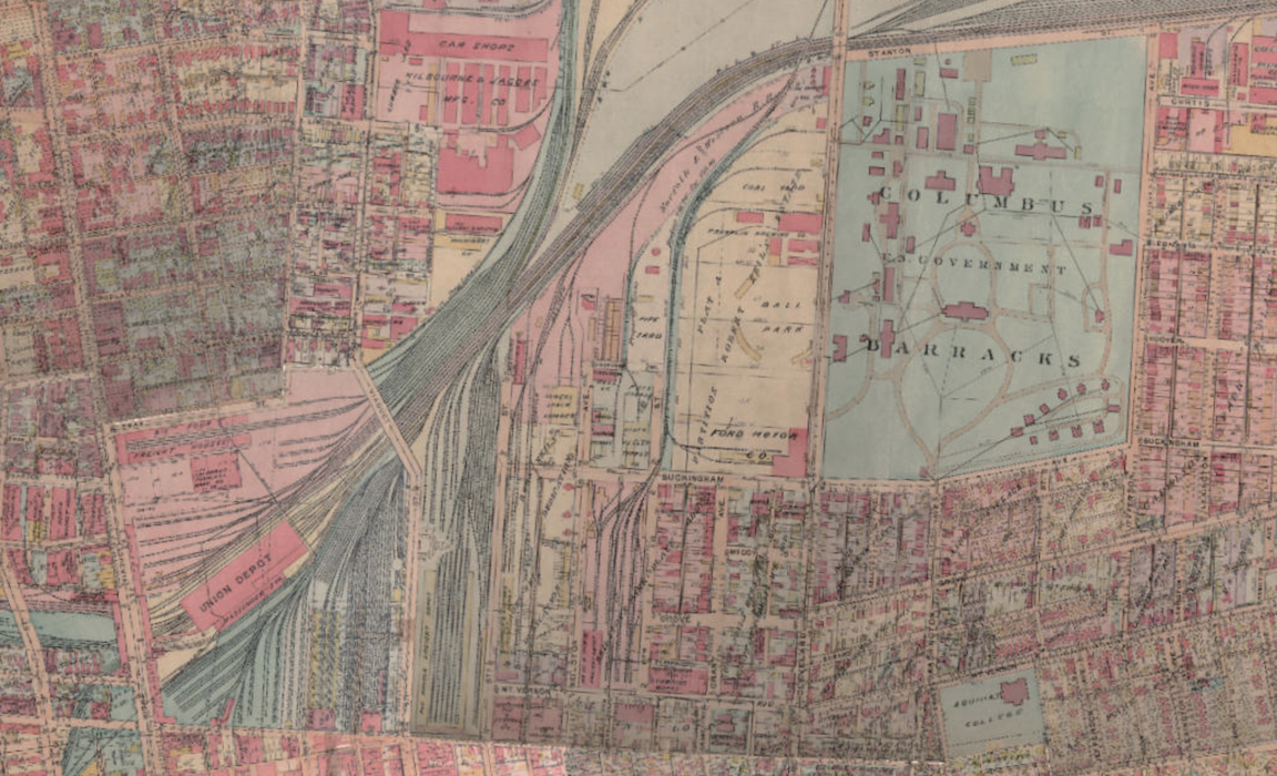 Engaging Columbus | Historical and Contemporary Maps of Columbus for ...